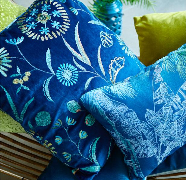 Cushions and Tiebacks